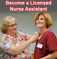 Become a Licensed Nurse Assistant